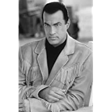 Steven Seagal On Deadly Ground B&W 24X36 Poster