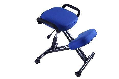 Amazon.com: Silla de descubierta de rodillas ergonómica Que ...