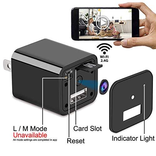 Spy Camera Charger | Hidden Camera | Mini Spy Camera 1080p | USB Charger Camera | Hidden Spy Camera | Hidden Nanny Cam | Hidden Spy Cam | Hidden Cam | Surveillance Camera Full HD 1080P