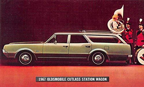 Elmhurst Illinois Hejhal Oldsmobile 1967 Cutlass Station Wagon pc ZA440002