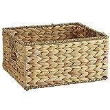 Pier 1 Imports Carson Natural Brown Wicker Small Shelf Storage Baskets