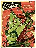QMX DC Bombshells Poison Ivy Art Print