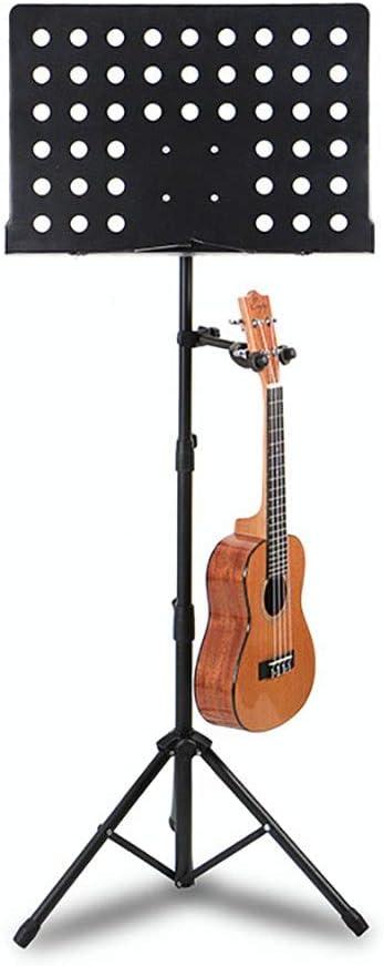 Oipoodde Guitarra Atril Fácil Plegable Partitura Soporte portátil ...