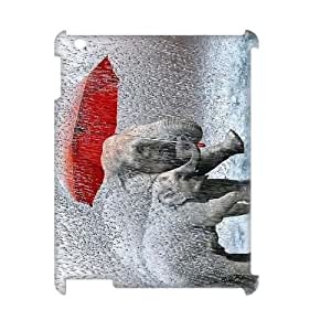 ZK-SXH - Singin' In The Rain Customized 3D Hard Back Case for iPad2,3,4, Singin' In The Rain Custom 3D Phone Case