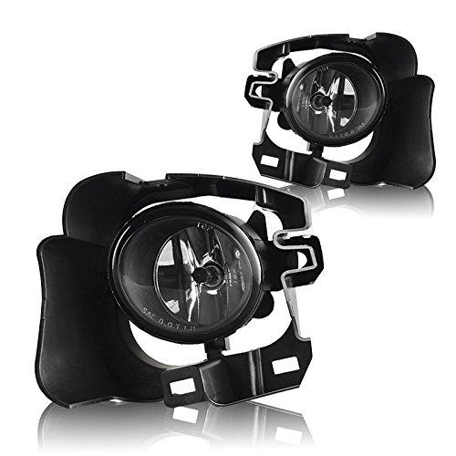 - Winjet WJ30-0453-09 OEM Series for [2014-2016 Nissan Versa Note] Driving Fog Lights + Switch + Wiring Kit