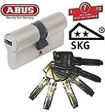 ABUS EC550 Cylindre de serrure (a/b) 35/50mm (c=85mm) avec 6 clés - SKG ** certifié