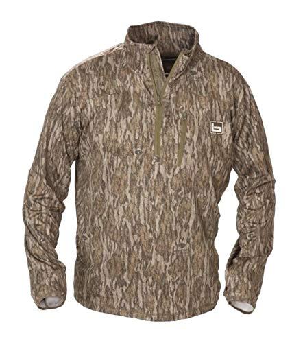 Banded Tech Stalker 1/4 Zip Pullover-Bottomland-Medium