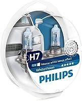 Philips 12972WHVSM WhiteVision Bombilla para Faros Delanteros con Efecto Xenon H7