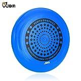 JBM Frisbee Flying Sports Disc 175 Gram for Adult Kids Outdoor Beach Garden Patio Game Leisure - Blue Orange
