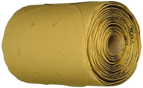 3M 01639 Stikit Gold 6'' P180A Grit Dust-Free Disc Roll by 3M (Image #2)