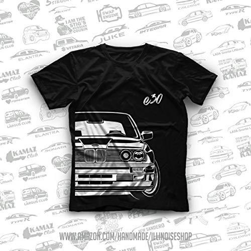 German Car E30 3 Serie Original T-Shirts 100% Cotton Free Shipping
