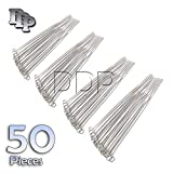 DDP SET OF 50 PEAN HEMOSTAT STRAIGHT 24'' FORCEPS FULL SERRATED STAINLESS STEEL