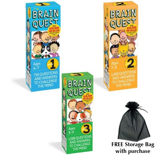 Brain Quest Combination Pack: Includes Grades 1, 2