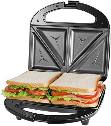 White Nonstick Panini Press and Sandwich Maker