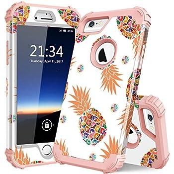 Amazon.com: Fingic iPhone 6s Case, iPhone 6 Case Pineapple ...