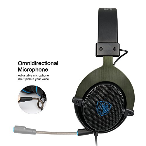 51FUl0mVRQL - Latest-Version-Xbox-one-HeadsetPS4-Headset-SADES-R3-Gaming-Headset-Over-ear-Gaming-Headphones-with-xbox-one-Mic-for-Multi-Platform-New-Xbox-One-PC-PS4-with-Volume-Control-BlackBlue