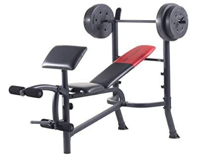 Amazon Com Weider Pro 265 Weight Bench Sports Outdoors