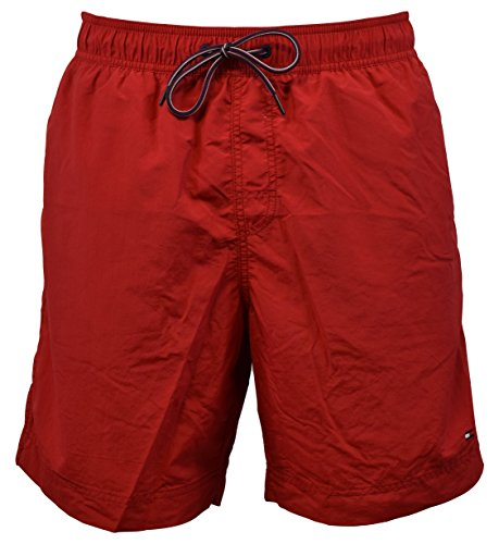 - 51FUlhBjisL - Tommy Hilfiger Mens Mesh Lining Pockets Swim Trunks