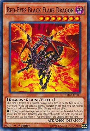 Common Legenda Unlimited Edition NM YuGiOh 1x Red-Eyes Fusion LDK2-ENJ24