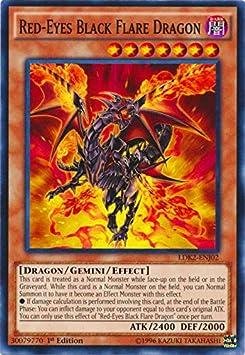 Black Dragon 3 x Red-Eyes Fusion Mint Cards! LDK2 UNL Edition YuGiOh