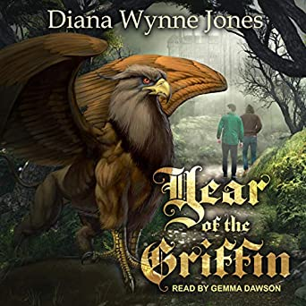 Year of the Griffin by Diana Wynne Jones Science fiction and fantasy book and audiobook reviews