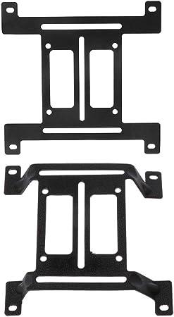 siwetg Support de Refroidissement /à Eau pour Pompe /à Eau 120 mm 2
