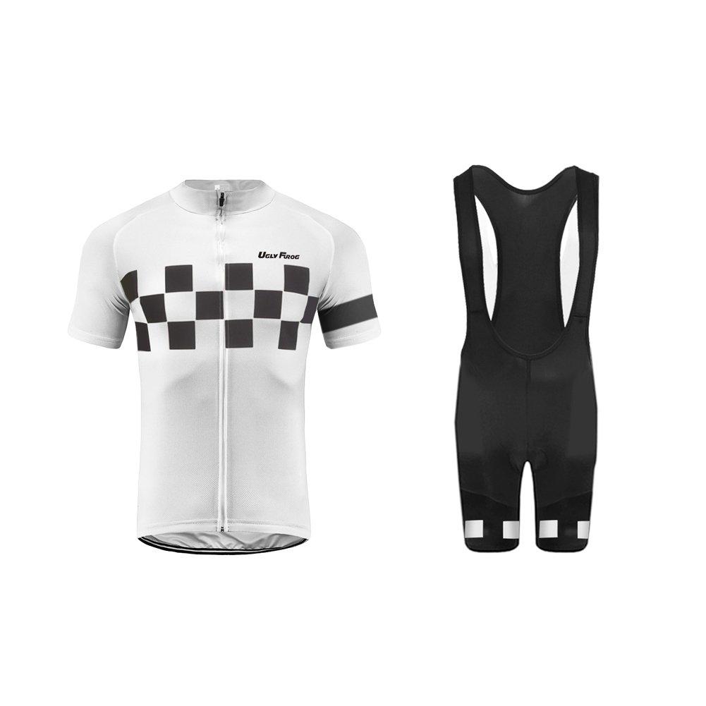 Uglyfrog HDX13 2018 Herren Schließen Hülsen Zyklus Jersey Fahrrad Hemd Fahrrad Top Radfahren Radsport Kurzarm Radtrikot Fahrradtrikot