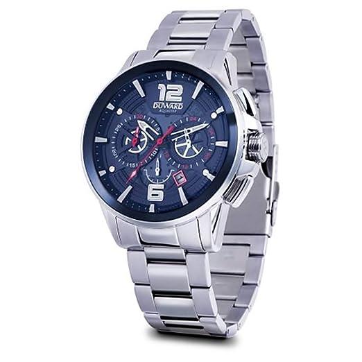 Reloj Duward Hombre Aquastar Carrera D95521.05 [AC0075] - Modelo: D95521.05: Amazon.es: Relojes