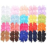 "Best Barrettes For Toddlers - Prohouse 40 PCS 3"" Baby Girls Ribbon Hair Review"