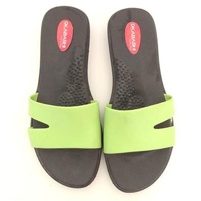 676253069 Okabashi Wave Women s Ergonomic Sandals (5.5 to 6.5
