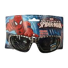 Marvel Ultimate Spiderman Sunglasses Black - 100% UVA & UVB Protection