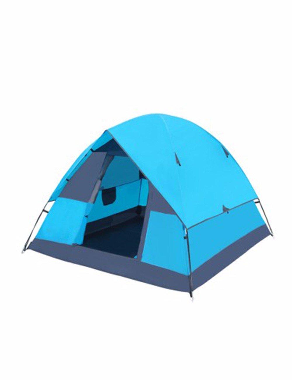 SJQKA-Zelt Outdoor Wandern Camping 3-4 Etagenbetten winddicht Regenschutz Zelt
