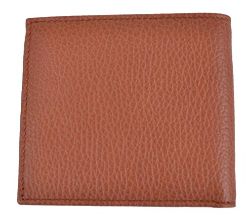 0a64c1e076ef Gucci 143383 Gucci Cognac Brown Textured Leather Men's Bifold Wallet - Buy  Online in UAE. | Apparel Products in the UAE - See Prices, Reviews and Free  ...