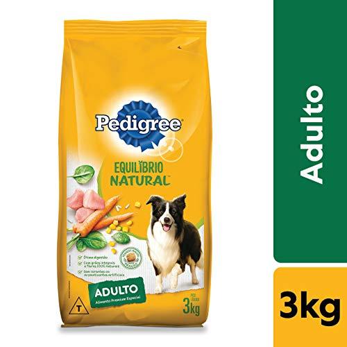 Ração Pedigree Equilíbrio Natural para Cães Adultos Raças Médias e Grandes 3 kg