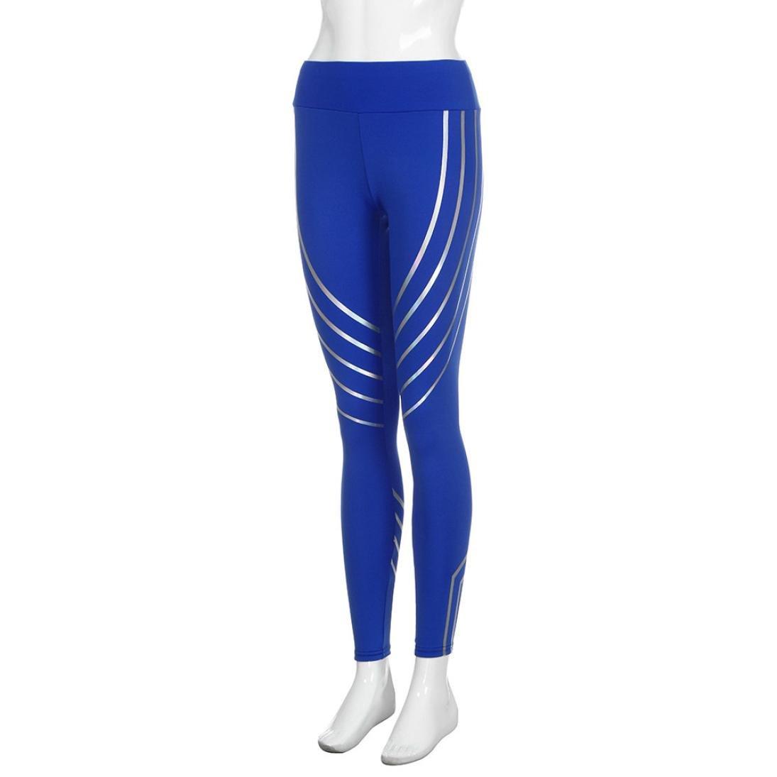 Pantalones Yoga Mujeres, ❤️Xinantime Polainas de Fitness Yoga para Mujeres Running Gym Stretch Sports Pants Pantalones