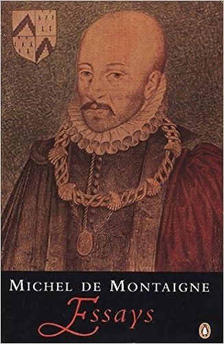 Amazon essays penguin classics michel de montaigne john m