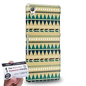 Case88 [Sony Xperia Z3] 3D impresa Carcasa/Funda dura para & Tarjeta de garantía - Art Carpet And Tapestry Aztec Carpet A