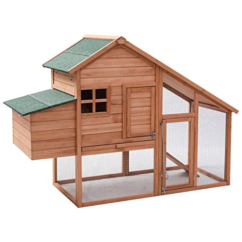 Tangkula-67-Chicken-Coop-Outdoor-Garden-Backyard-Large-Wood-Hen-House-Rabbit-Hutch-Poultry-Cage-with-Run