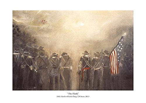 (The Flank A Remembrance Original Portrait for the Battle of Gettysburg 150th year)