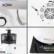 Solac LC-6205 Fruit Cocktail-Exprimidor (350 W, Capacidad 0, 4 l ...