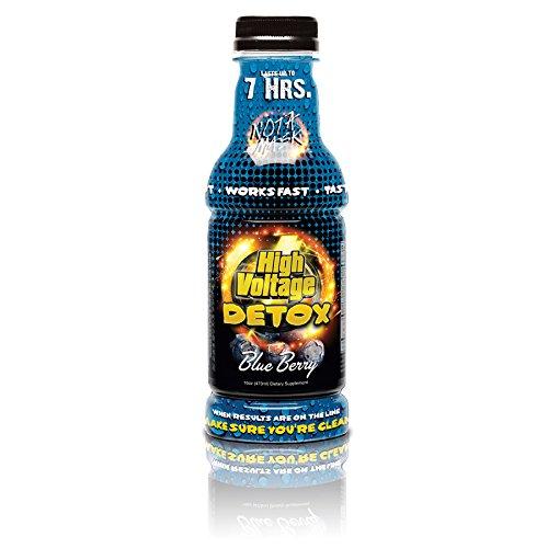 High Voltage Detox Drink 16oz Blue Berry