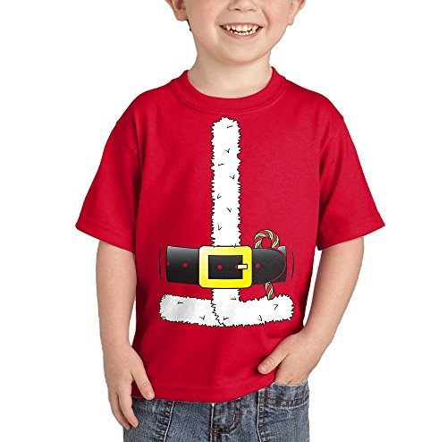 Santa Claus Costume T-shirt (Red, 5T)