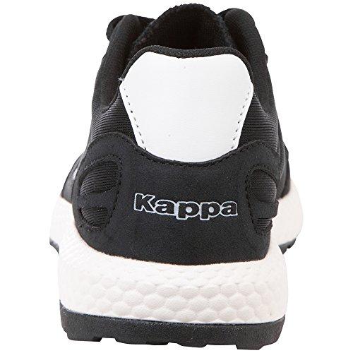 Noir Les 1110 Adulte Blanc Tous noir Kappa Unisexe Baskets qgpTnZw6