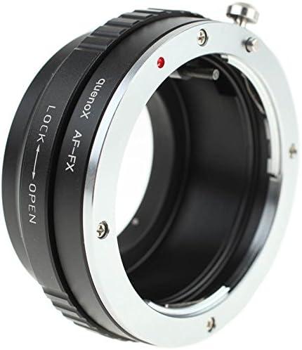 f/ür Fujifilm Finepix X-T20 X-M1 X-E1 X-A2 X-E2 z.B Quenox Objektiv-Adapter f/ür Sony//Minolta-A-Mount-Objektiv an Fuji-X-Mount-Kamera X-E2S X-T2 X-A1 X-Pro1 X-T1 X-A10 X-Pro2 X-A3 X-T10