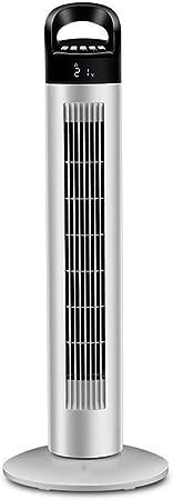 Opinión sobre FHDF Silencioso Ventilador De Torre Portátil Oscilante Tower Fan3 Velocidades 3 Viento para El Hogar Y La Oficina Temporizadorr (Blanco, 78 CM)