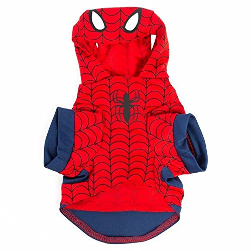 Spiderman Dog Costume (Marvel Halloween Spiderman Dog Costume - Large)