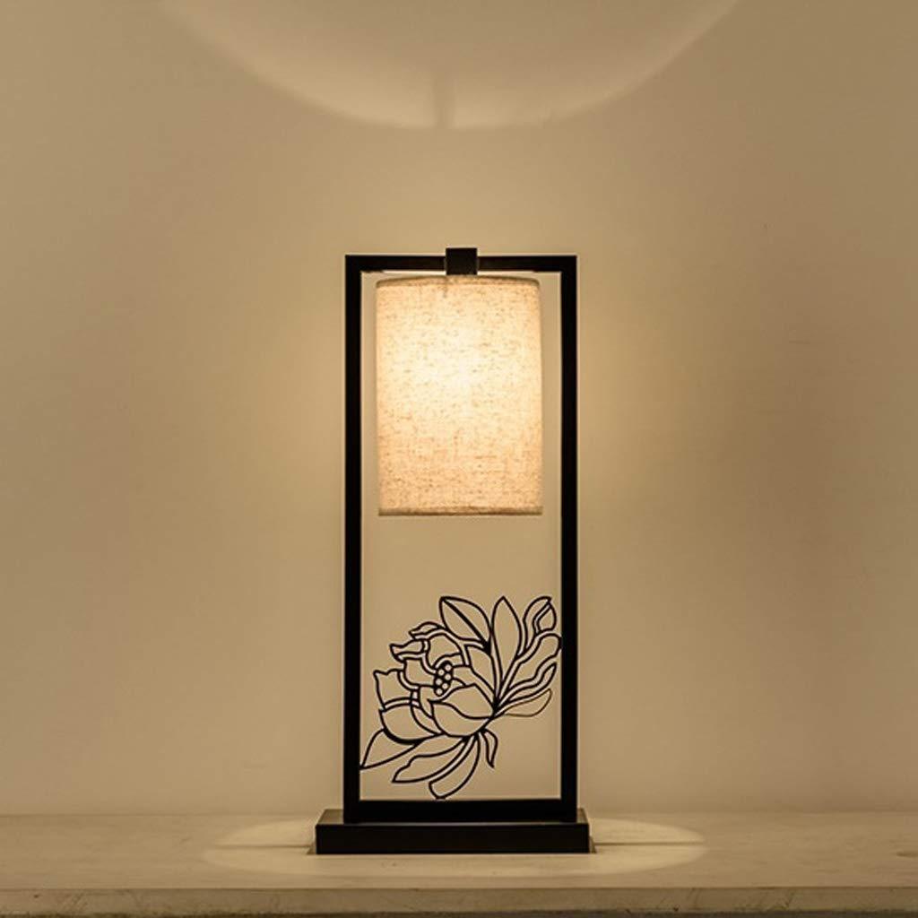 中国風のリビングルームのテーブルランプの寝室のベッドサイドランプレトロな研究室の装飾ランプ25 * 56 cm QYSZYG   B07SG8H887