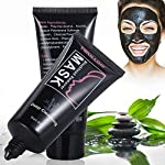 Charcoal Mask, Blackhead Peel Off Mask, Black Mask with tools, Premium Quality Mask Purifying Peel off Mask, Deep clean dead skin , remove blackheads/whiteheads/Acne/Oil control (60g)