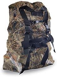 REEKGET Adjustable Shoulder Strap Camo Hunting Bags Mesh Decoy Bag Duck Goose Turkey Hunting Back,Large-Capaci