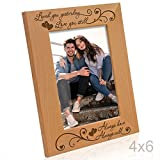 Kate Posh - Loved you yesterday, Love you still, Always have, Always will - Engraved Natural Wood Picture Frame (4x6-Vertical)